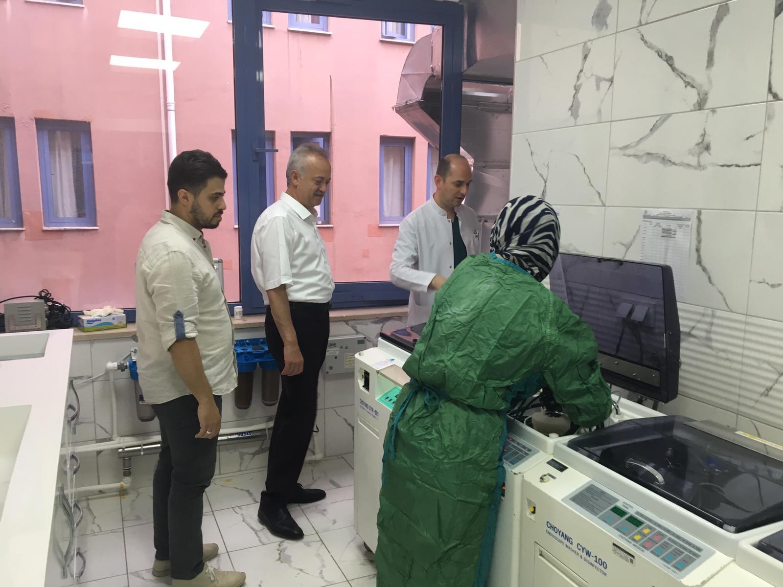 Endoskopi Ünitesi yenileniyor