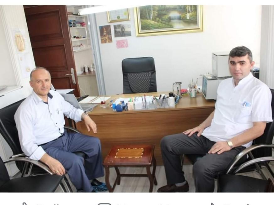 Mustafa Çelen'e  sürpriz ziyaret
