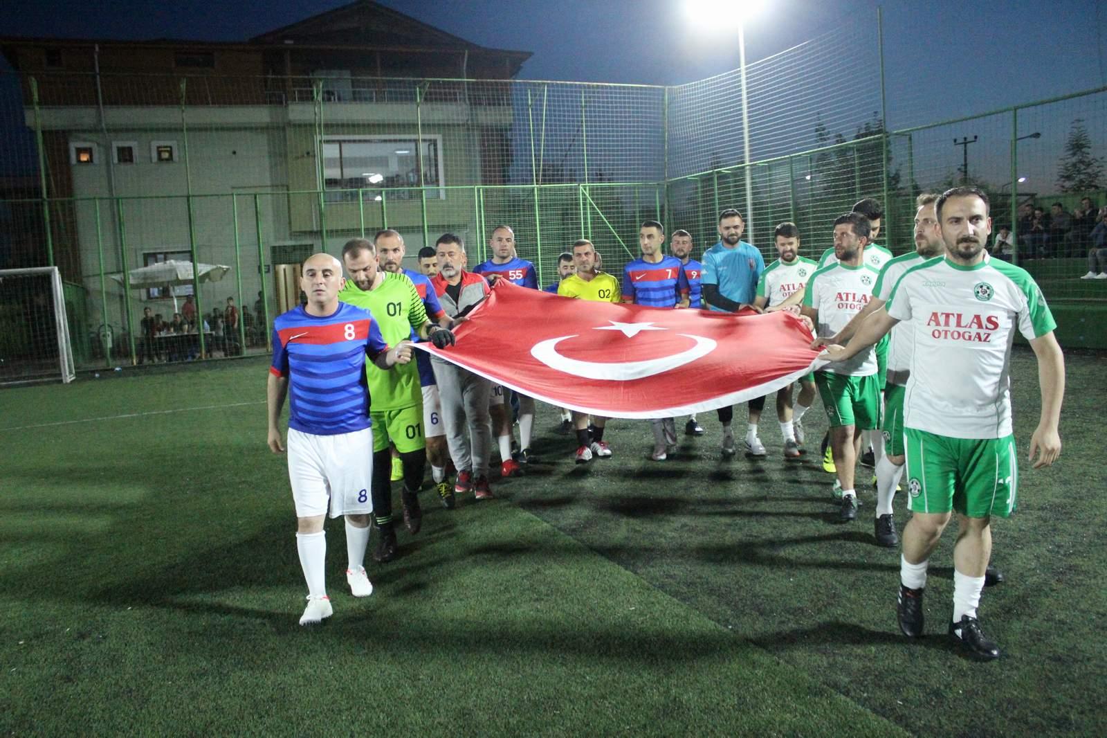 Arifiye'de futbol heyecanı sona erdi