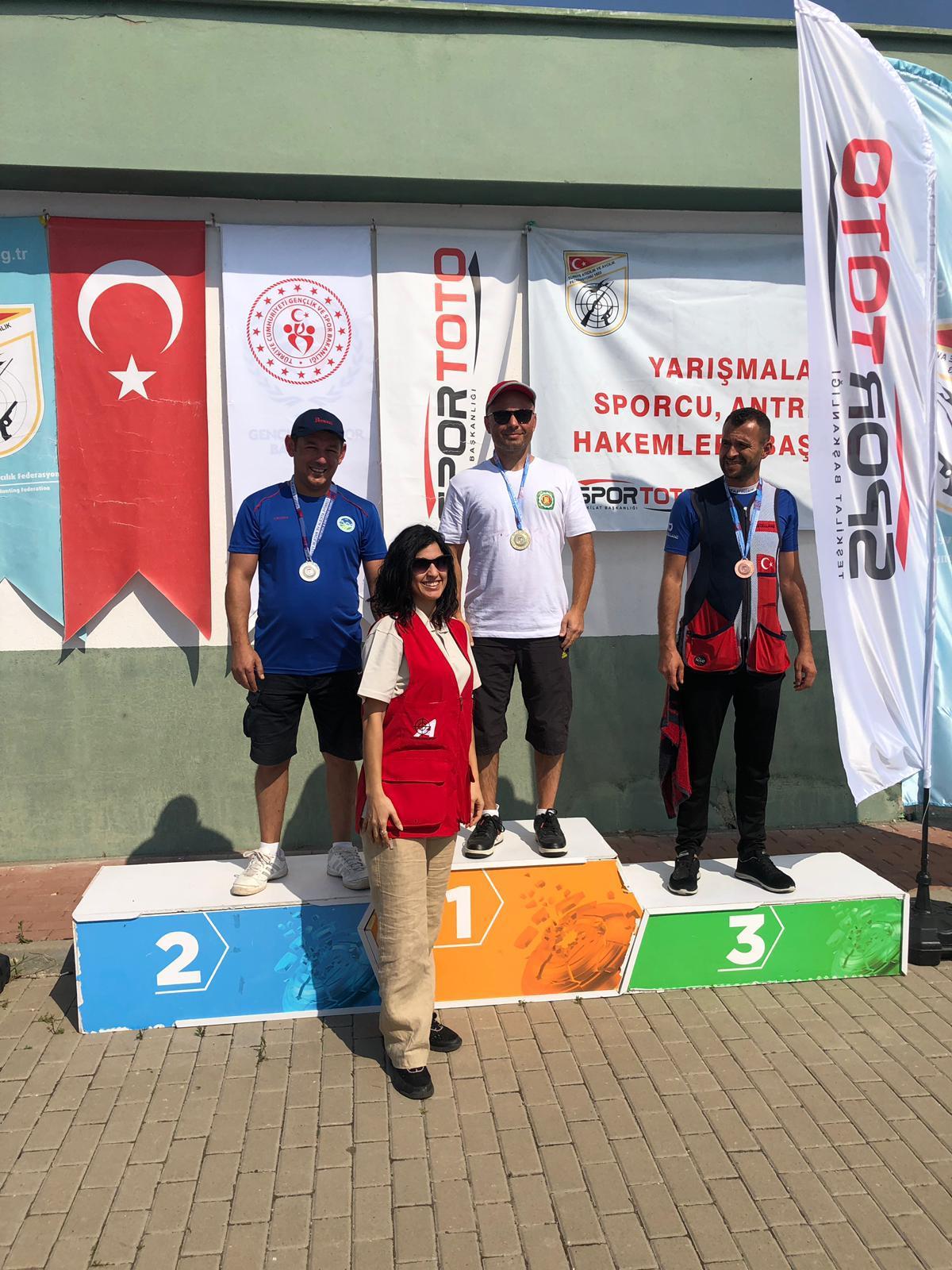 Atıcılıkta Türkiye ikincisi