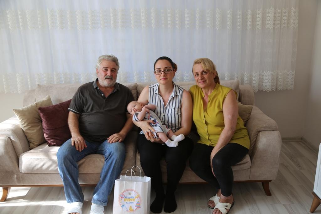 Sapanca'da bebeklere ziyaret