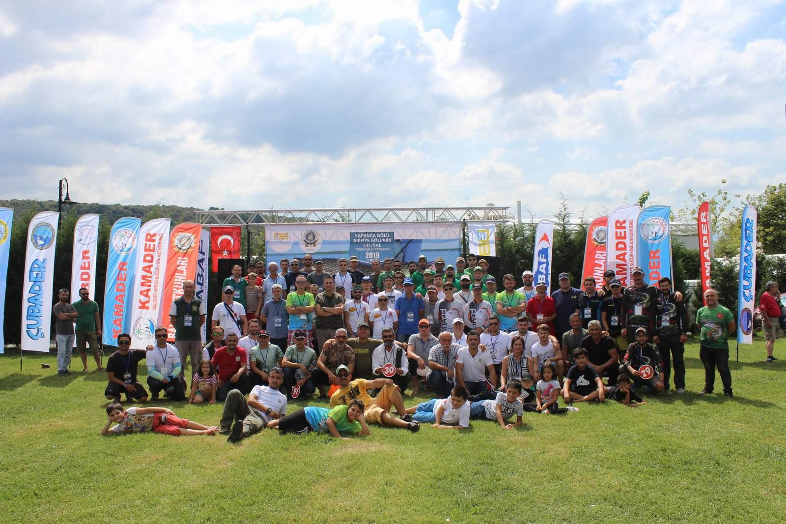 Arifiye'de turna balığı yarışması