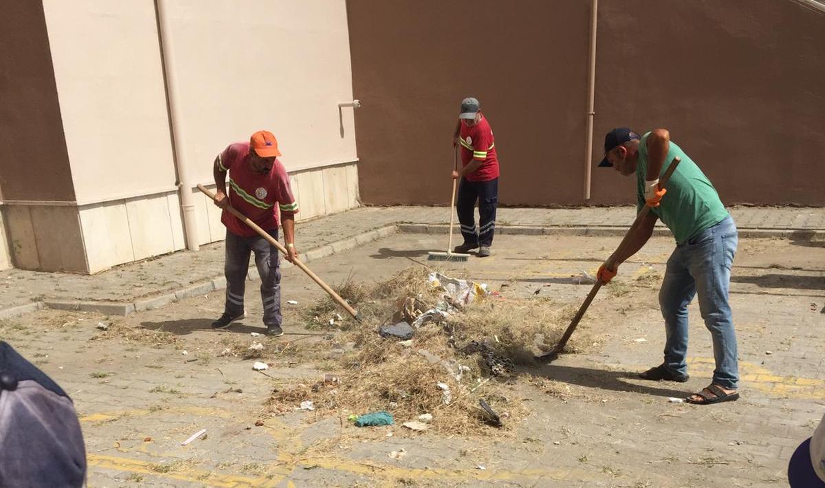 Karasu'da eğitim temizliği