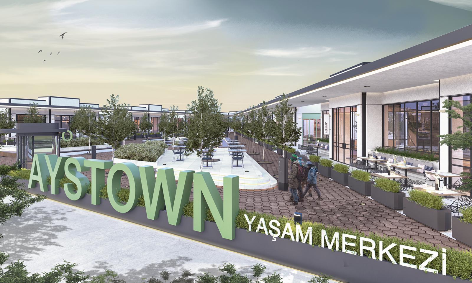 Şehrin Yeni Nesil Restoran AVM'si