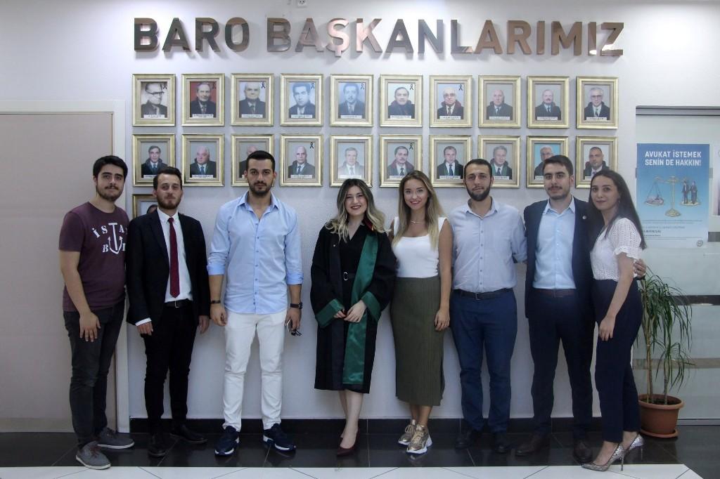 Baroya yeni avukatlar
