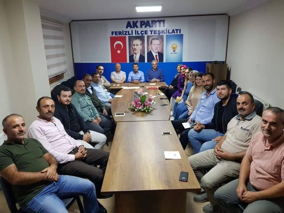 AK Parti Ferizli kongreye hazır