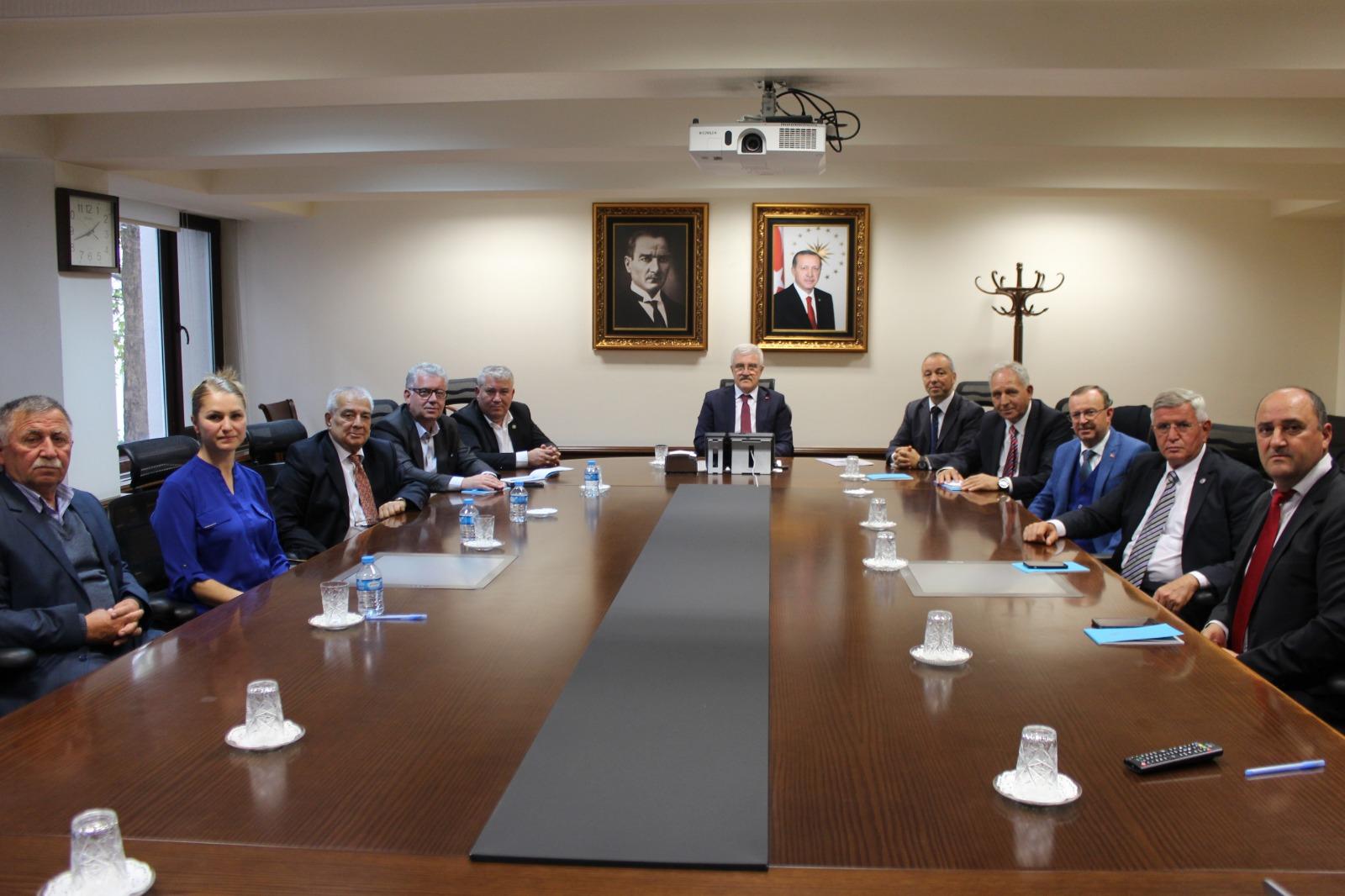 Balkan Türkleri'nden  Ankara temasları