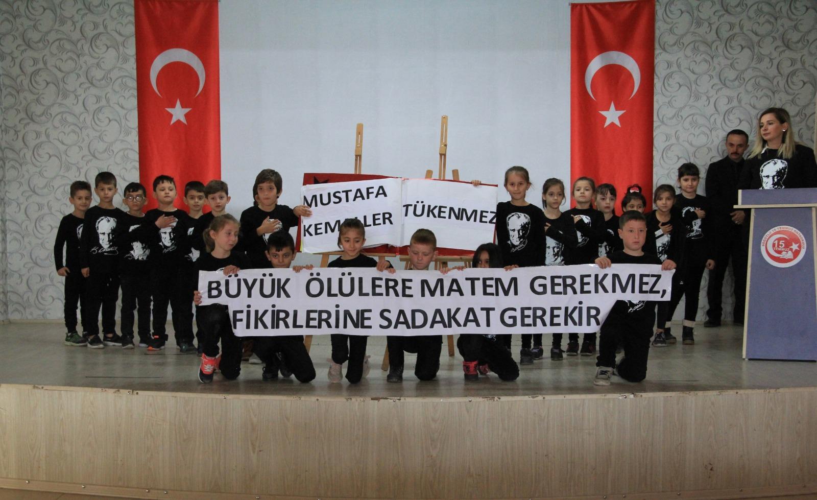 Söğütlü'de Atatürk unutulmadı