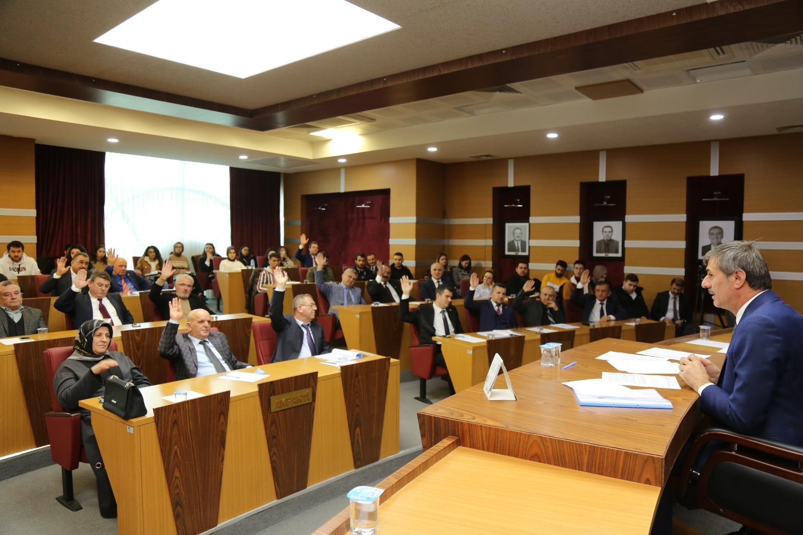 Serdivan meclisinden örnek davranış