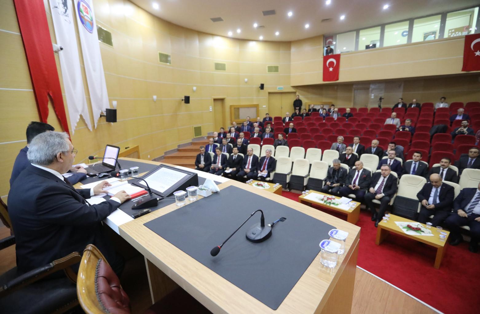 Sakarya'daki yatırımlar konuşuldu