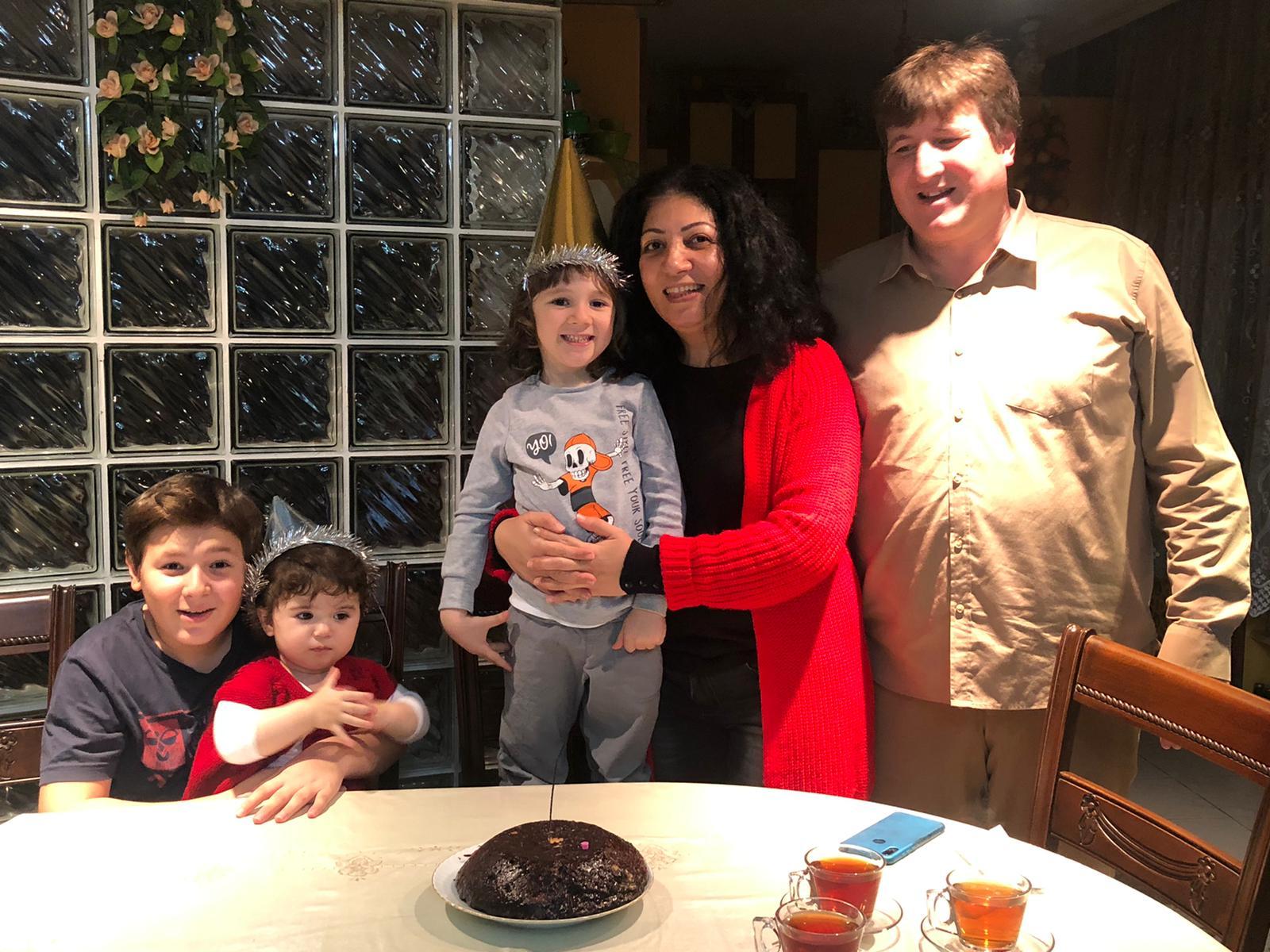 Şahin ailesinde çifte sevinç