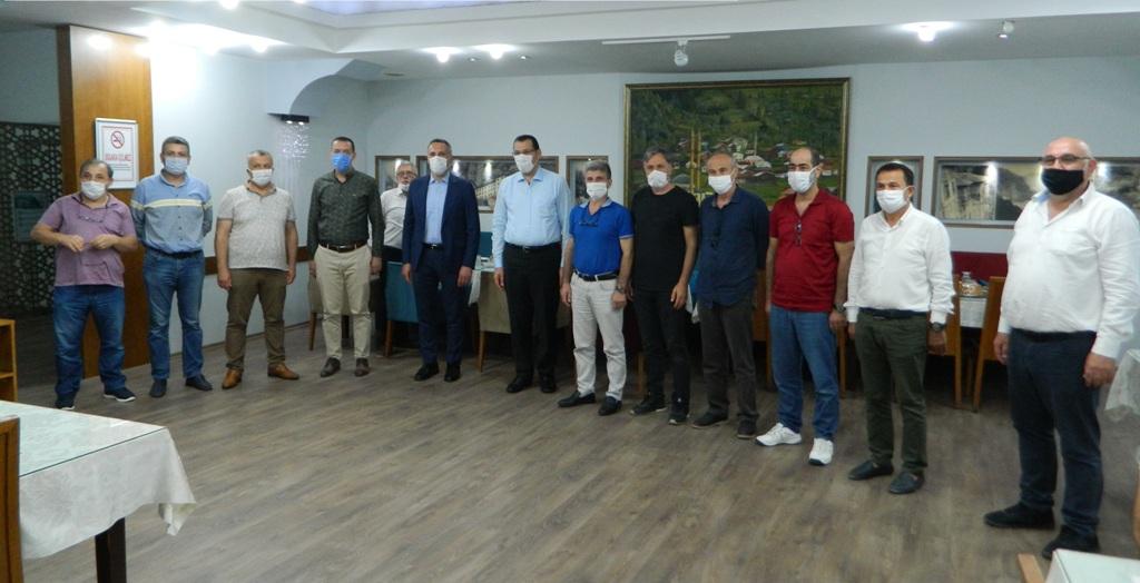 Trabzonlular Derneğine ziyaret