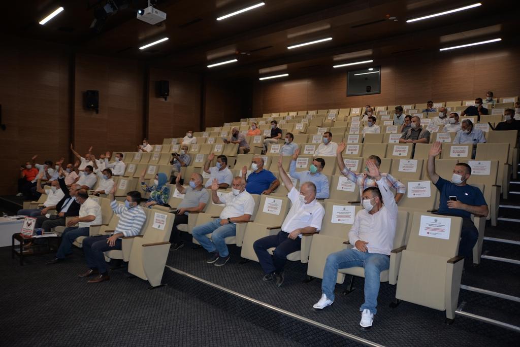 Hendek'te meclis toplandı