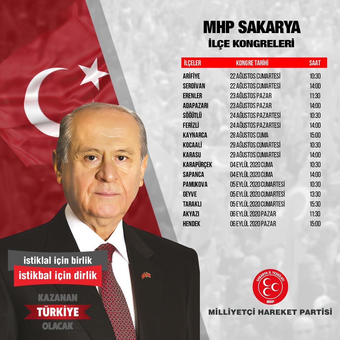MHP'nin kongre takvimi açıklandı
