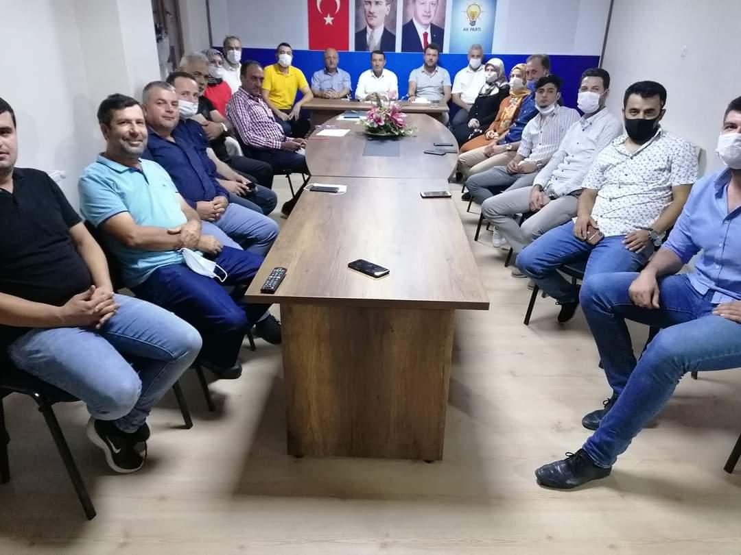 Ferizli AK Parti'de görev dağılımı