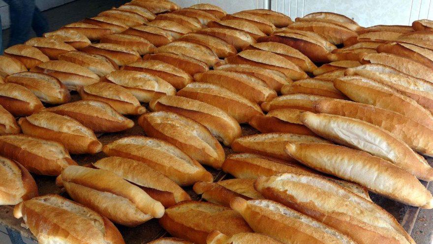 Ekmeğin gramajı düşürüldü