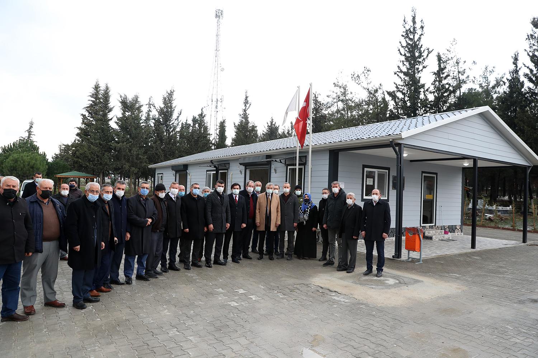 Pamukova'ya yeni gasilhane