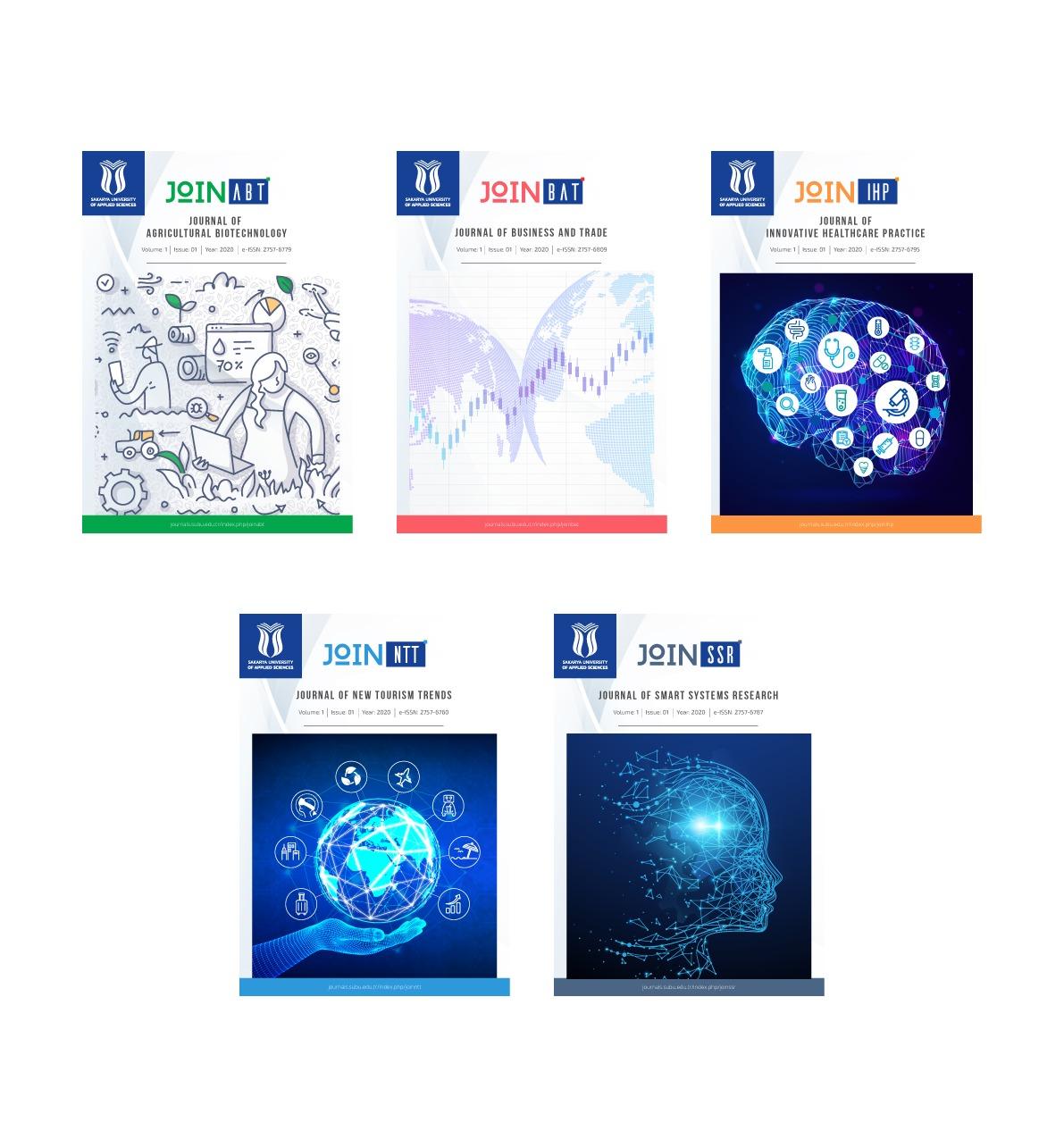 5 bilimsel dergi yayında