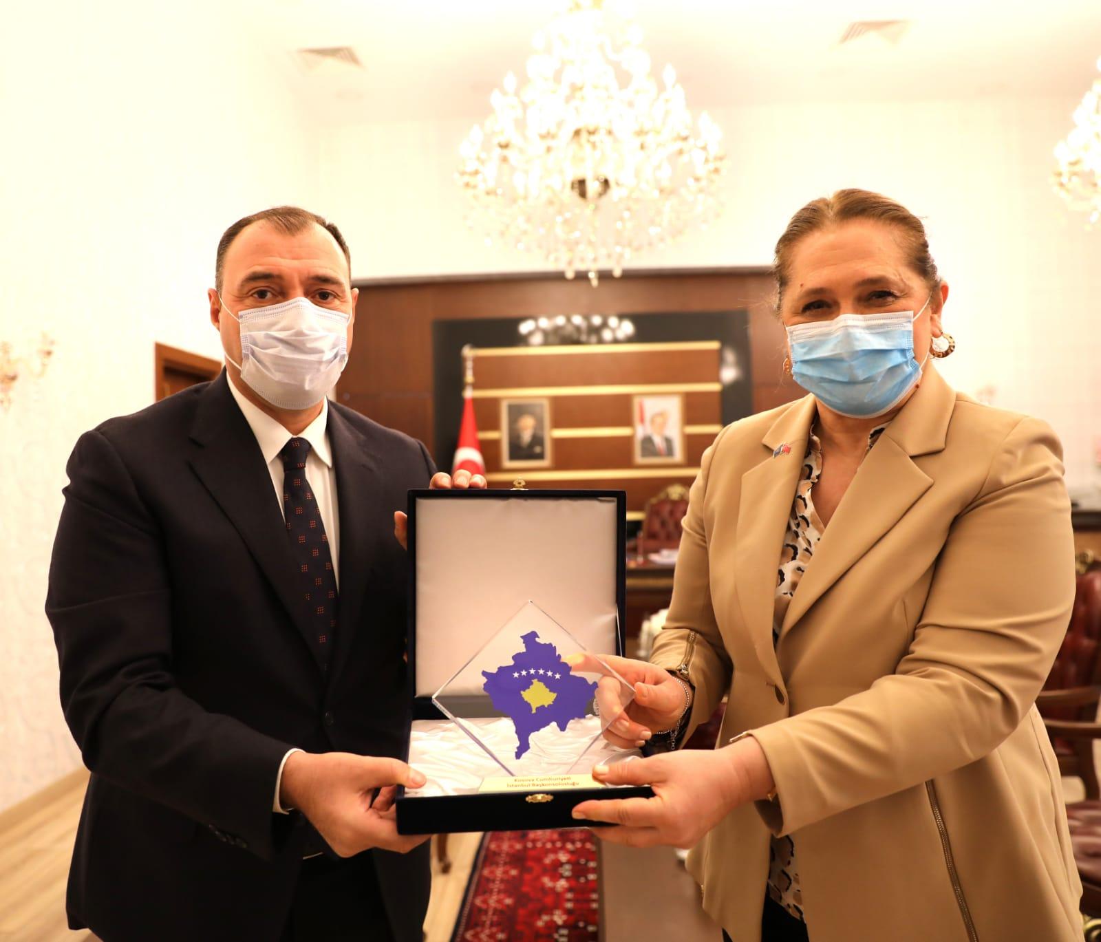 Kardeş Kosova ile işbirliği temasları