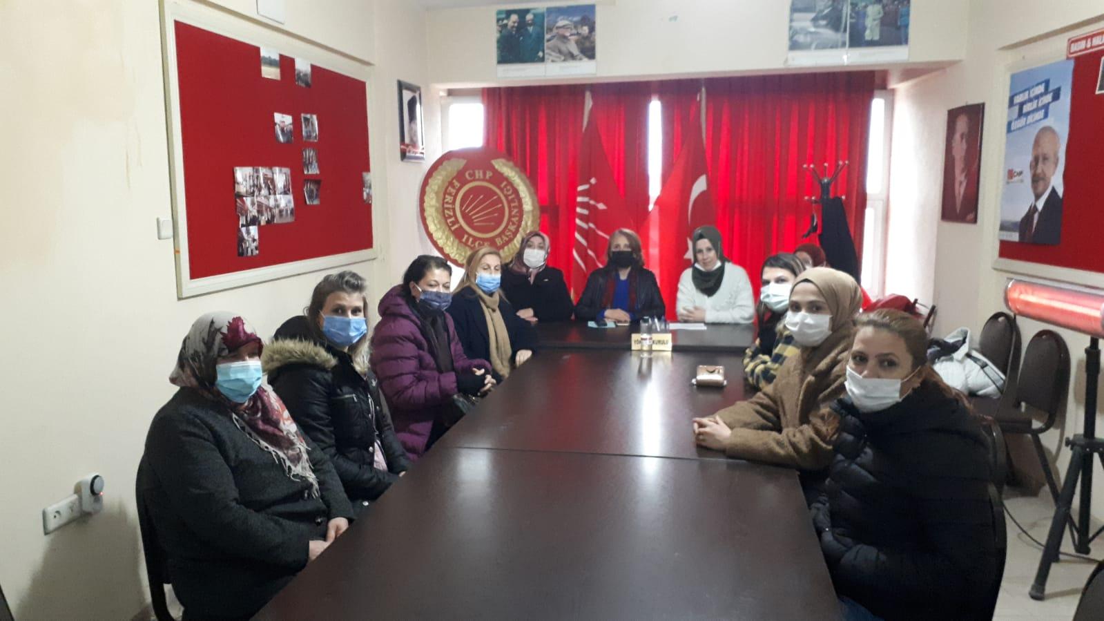CHP'li kadınlar ilçelerde