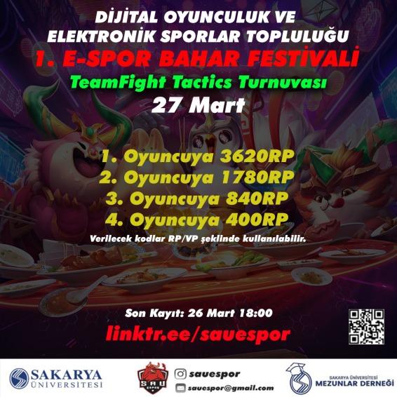 E-Spor Festivali başlıyor