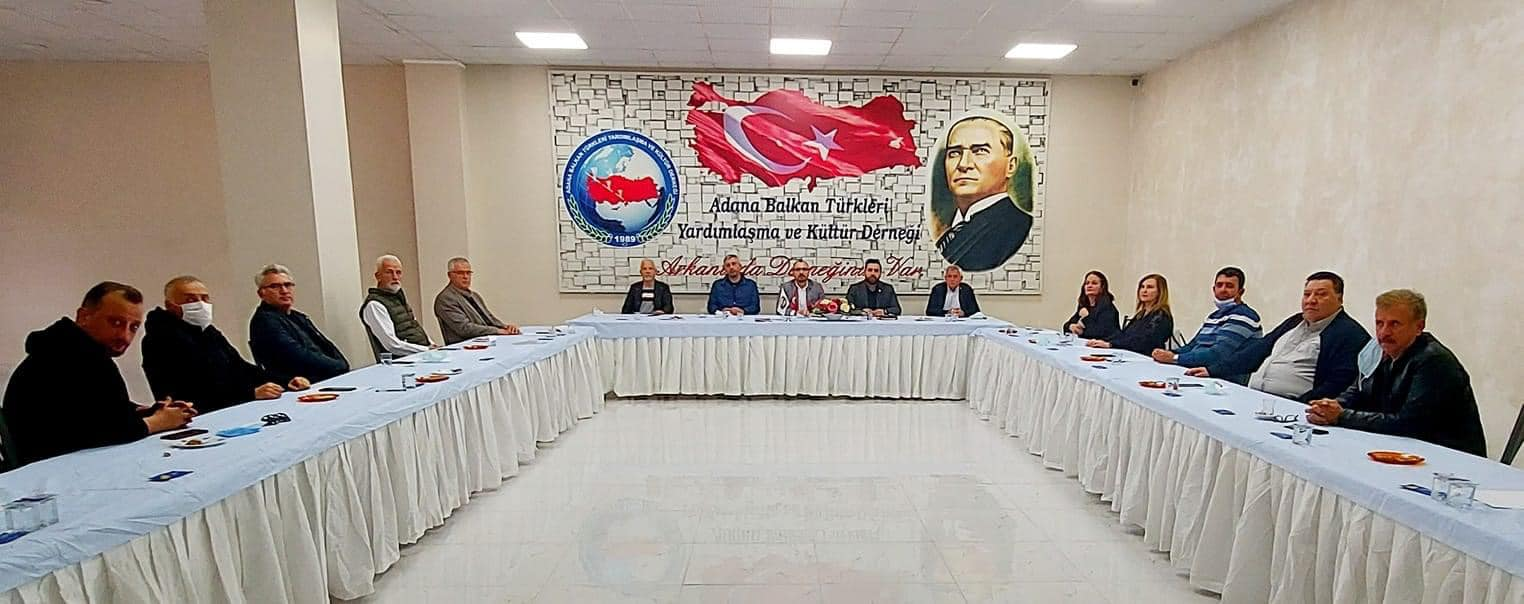 Balkan Türkleri Adana'da toplandı