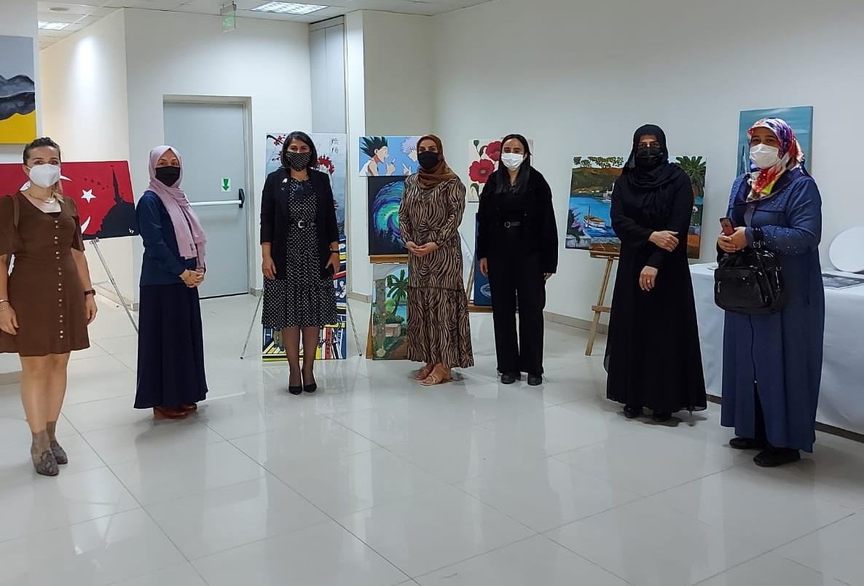 Arifiye'de sergi açıldı