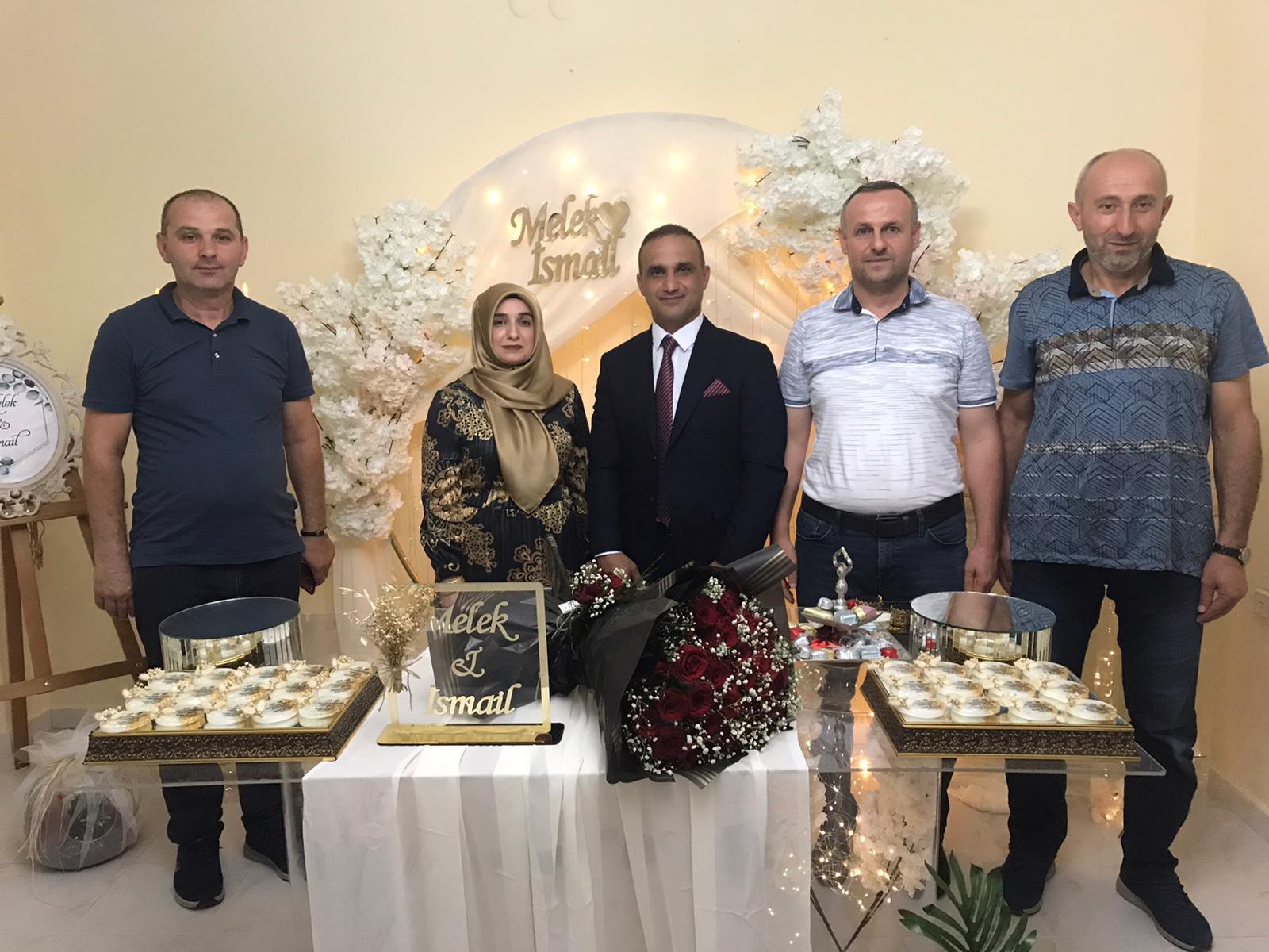 Başkan Yardımcısı nişanlandı