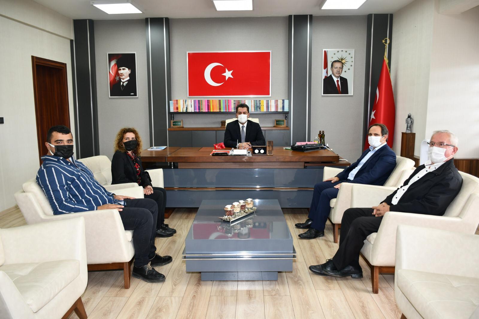 CHP'den SASİ ve Eğitim ziyareti