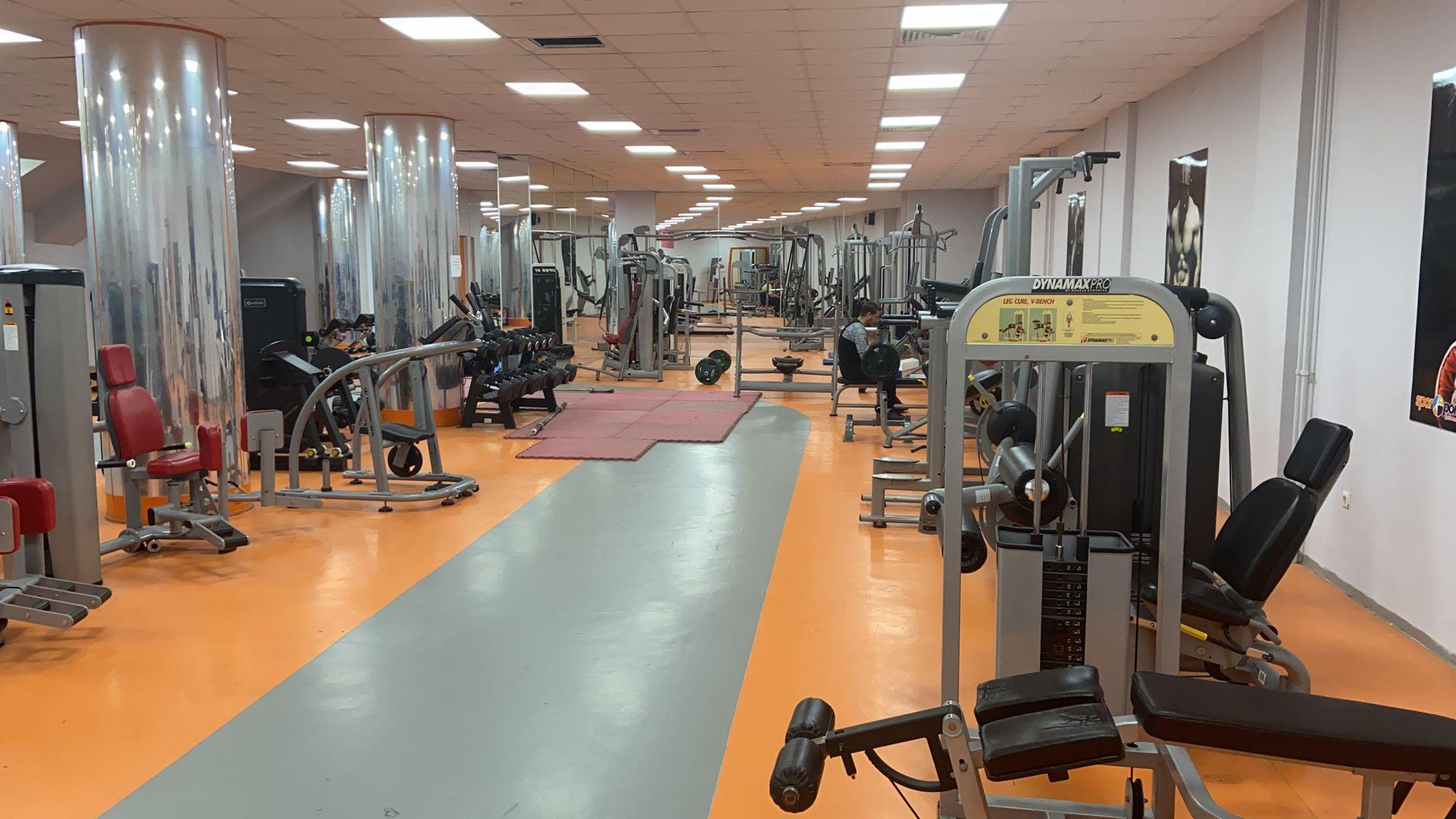 SUBÜ Fitness Salonu başlıyor