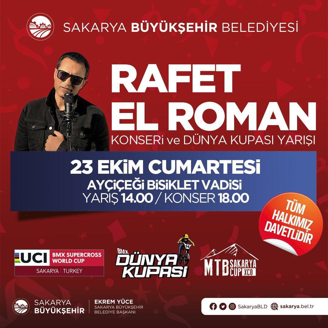 Rafet El Roman konsere geliyor